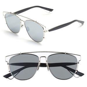 Dior Technologic 57mm Brow Bar Sunglasses